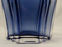 Luxurious Blue Glass Decanter