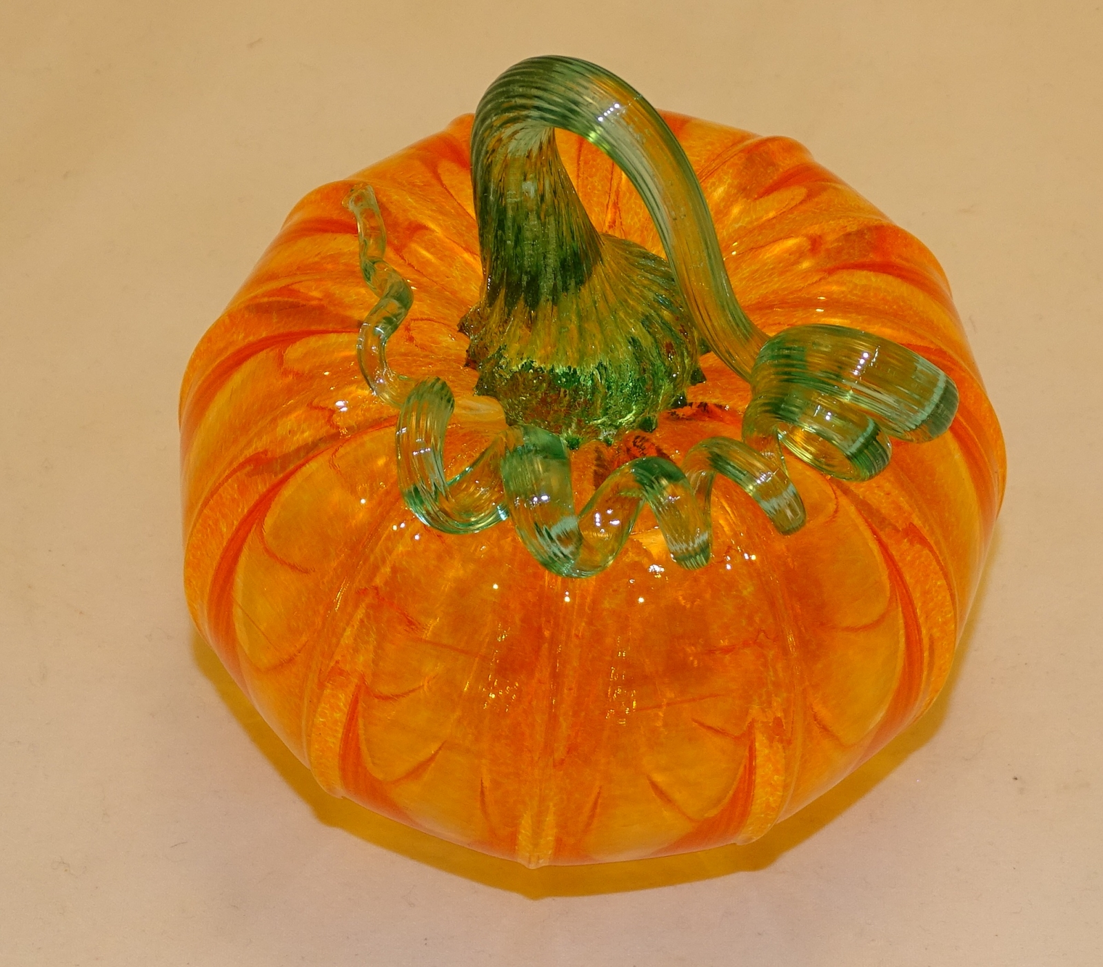 Multi Color Glass Pumpkins