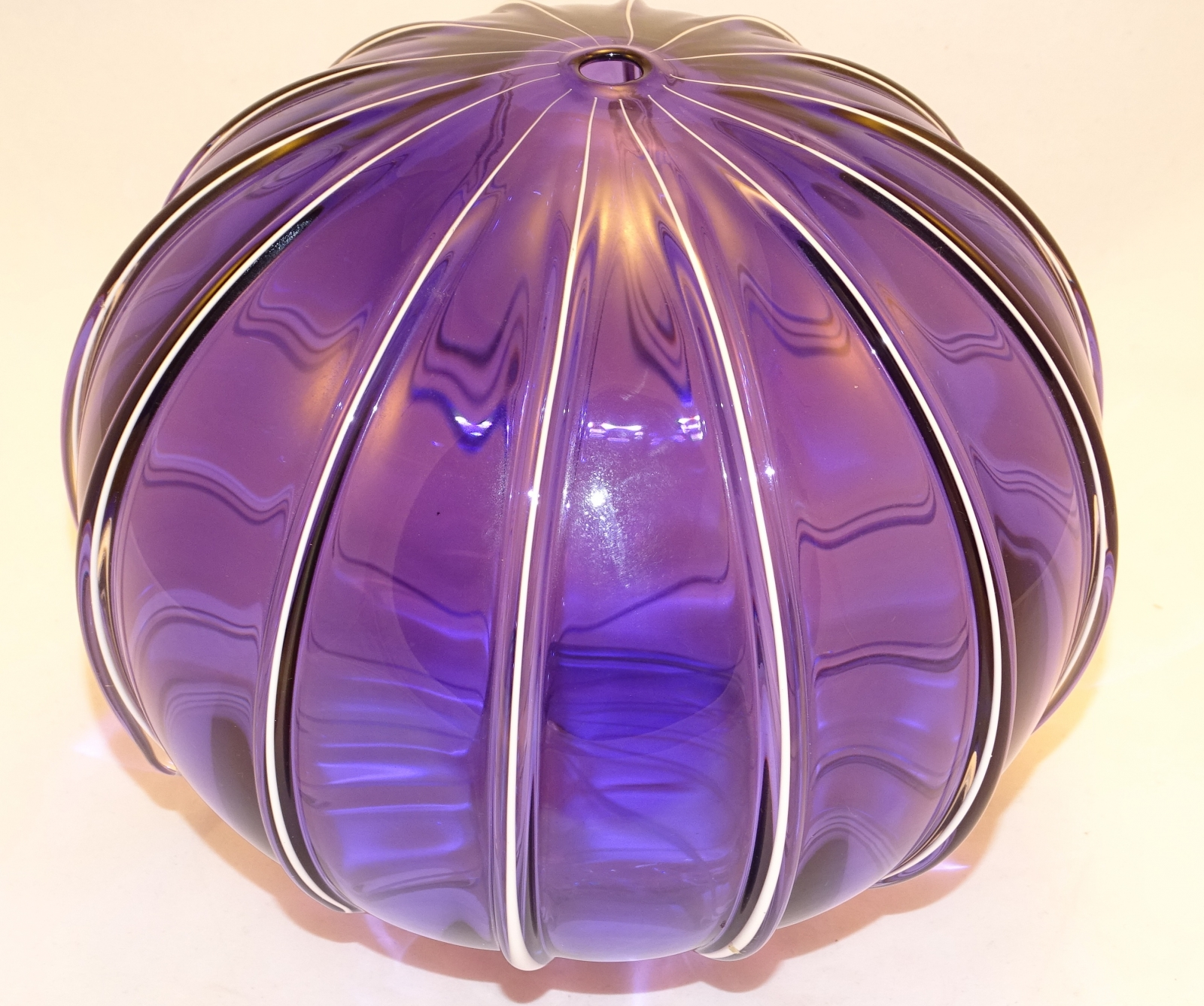 Purple Glass Sphera