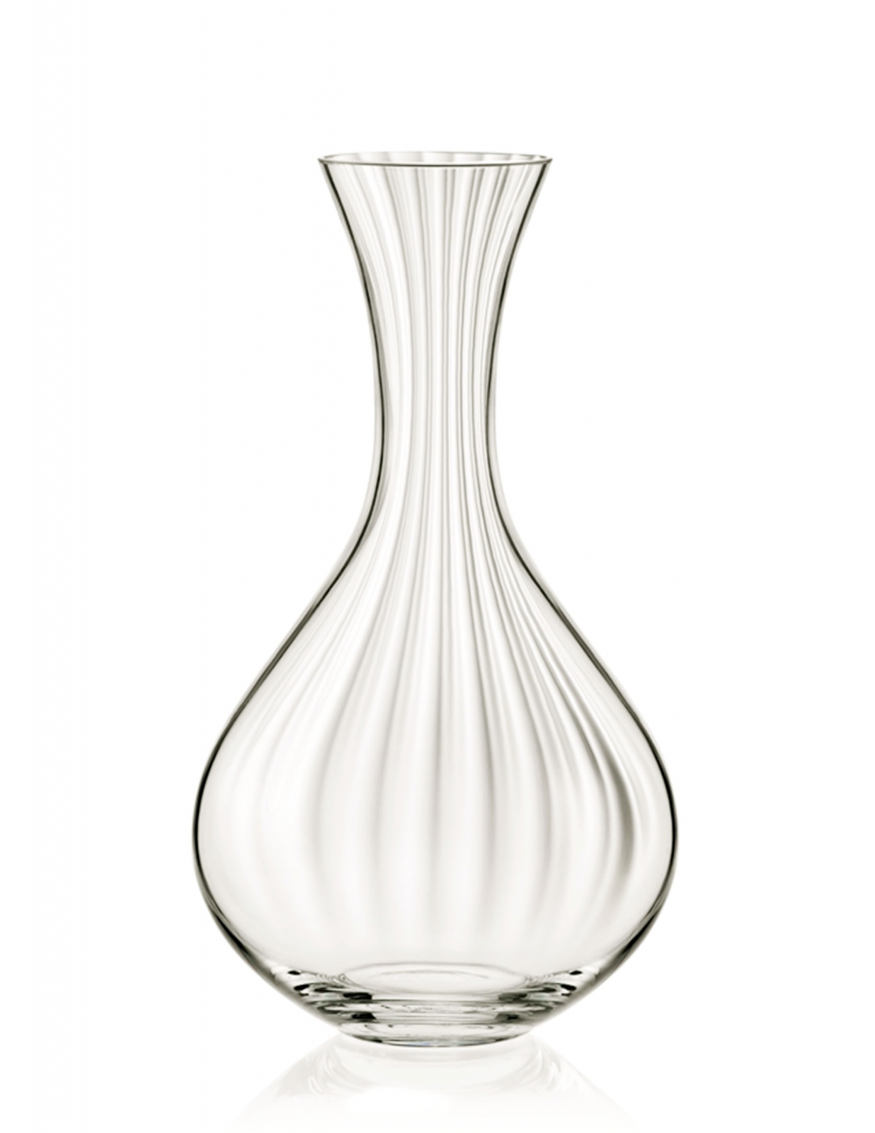Decanter with Straight Cut Design