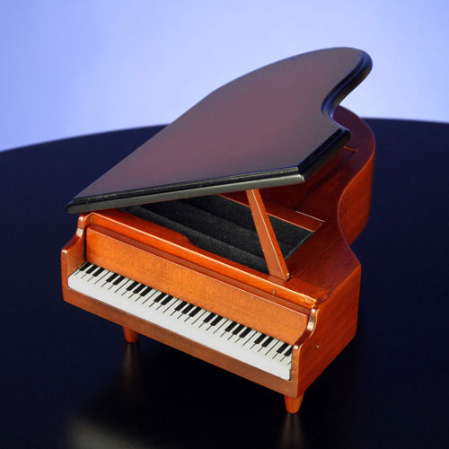 Wooden Piano - Jewelry & Ring Box
