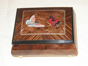 Butterflies  jewerly music box