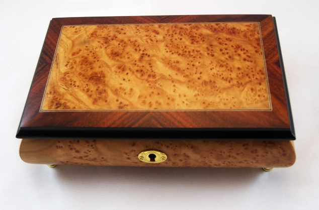 Bird Eye Matte Finish Music box