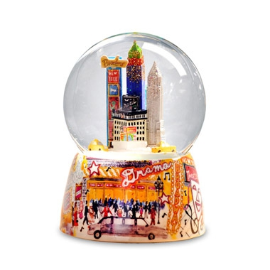 NYC Broadway Water Globe