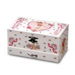 Ballerina Keepsake Jewelry Box