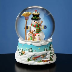 Gary Patterson Happy Holidays Snowman SG