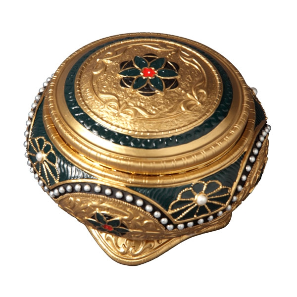 Alexandra and Nicholas Hinged Trinket Box