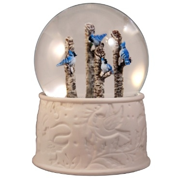 Blue Jays Water Globe