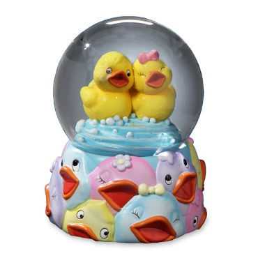 Jingle Jumbles Rubber Ducky Water Globe