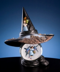 Wizard of OZ Witch Hat Water Globe