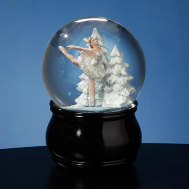 Swan Lake Ballet Waterglobe