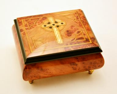 Celtic Cross Music box