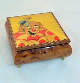 Clown Sorrento wooden box