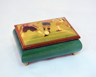 Soccer jewelry box