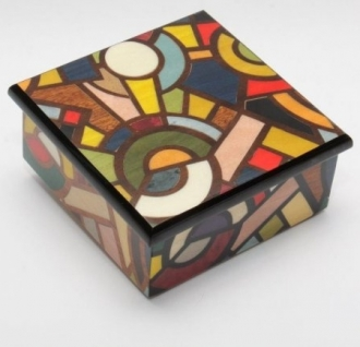 Ercolano Luxury Modern Inlay Music Box