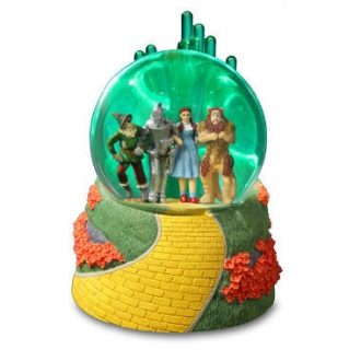 Emerald City 4 Character Lighted Water Globe