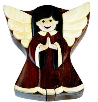 Angel puzzle box