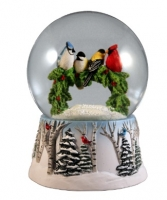 Multi Birds on a Wreath WG