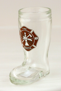 MINI BOOT SHOT W/ MALTESE CROSS