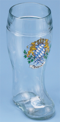 MINI BOOT SHOT WITH BAYERN CREST