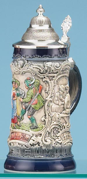 RUSTIK BLUE TRADITIONAL STEIN