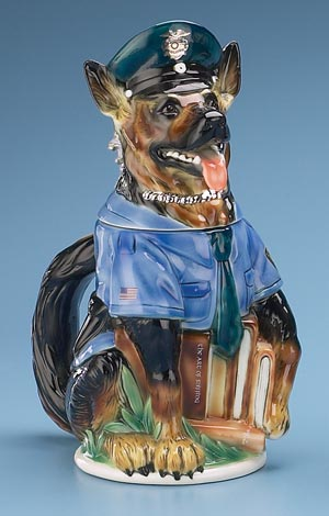 AMERICAN POLICE DOG STEIN