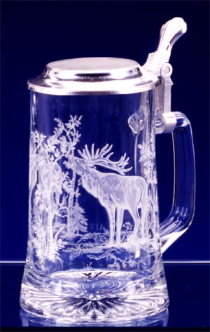 GLASS ELK STEIN