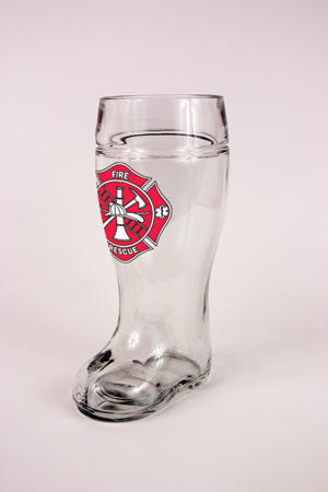 1.0 L GLASS MALTESE CROSS BOOT