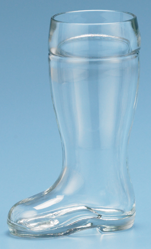 HALF LITER GLASS BOOT