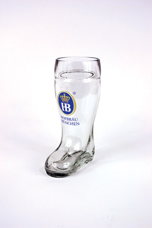 *HB 0.5 LITER GLASS BOOT