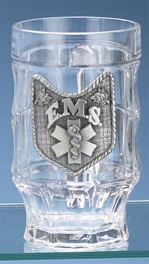 EMS GLASS FACET MUG