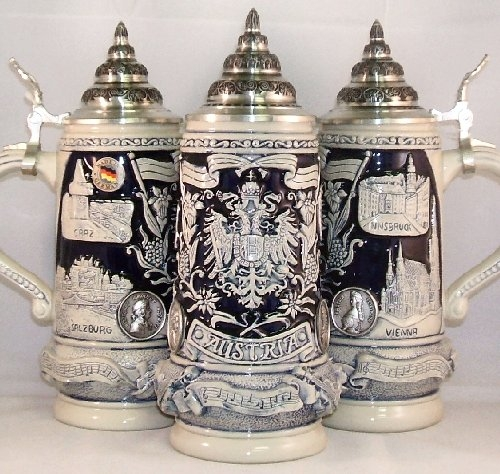 Austria LE German Beer Stein .5L