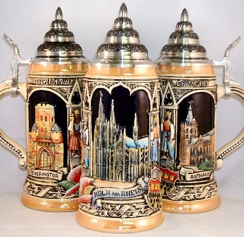 Koln Cologne LE German Beer Stein .5L