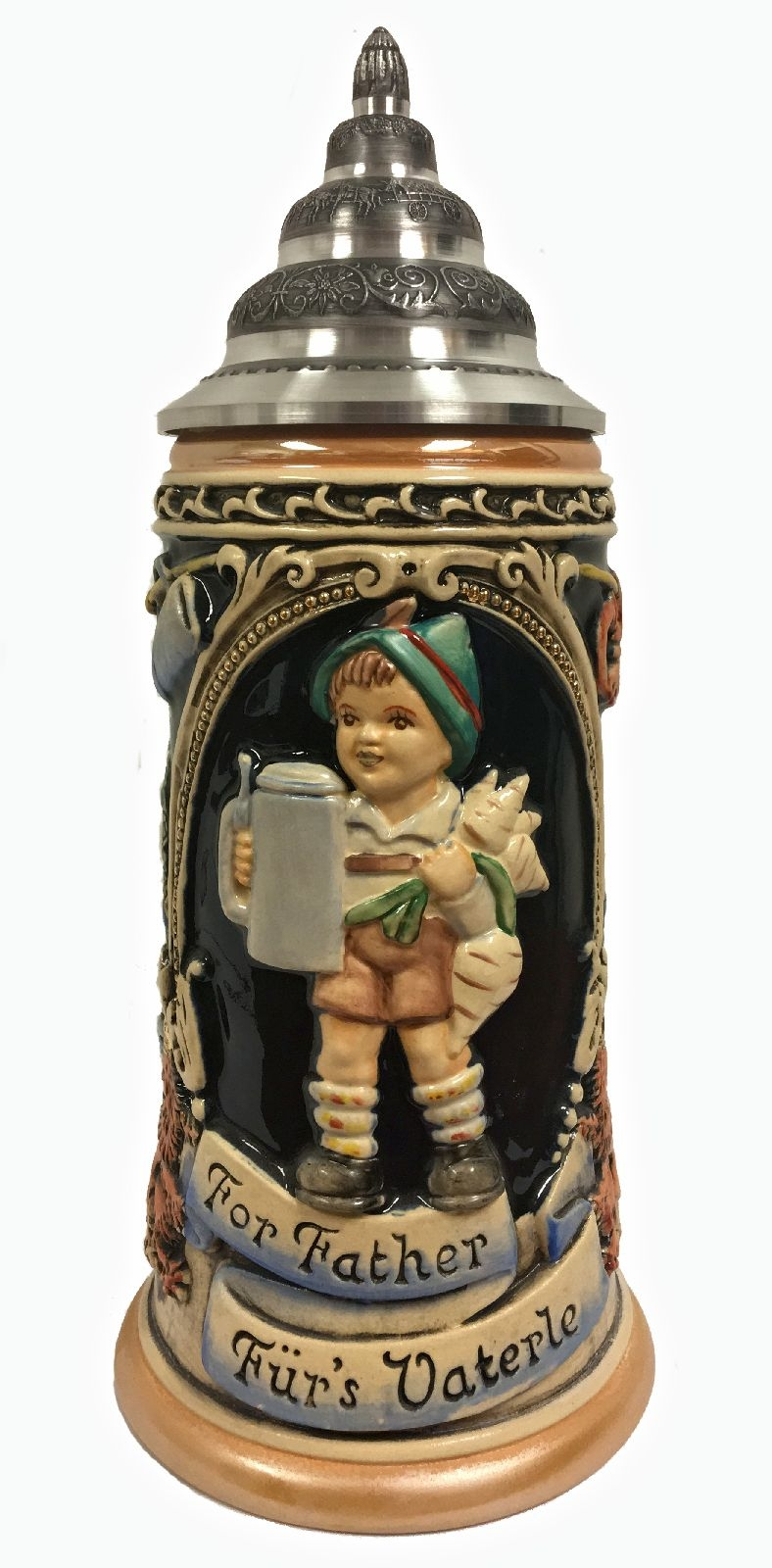 M.I. Hummel For Father LE Stoneware German Beer Stein .75 L Made in Germany