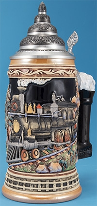 Train Stein w/out Figurine Lid