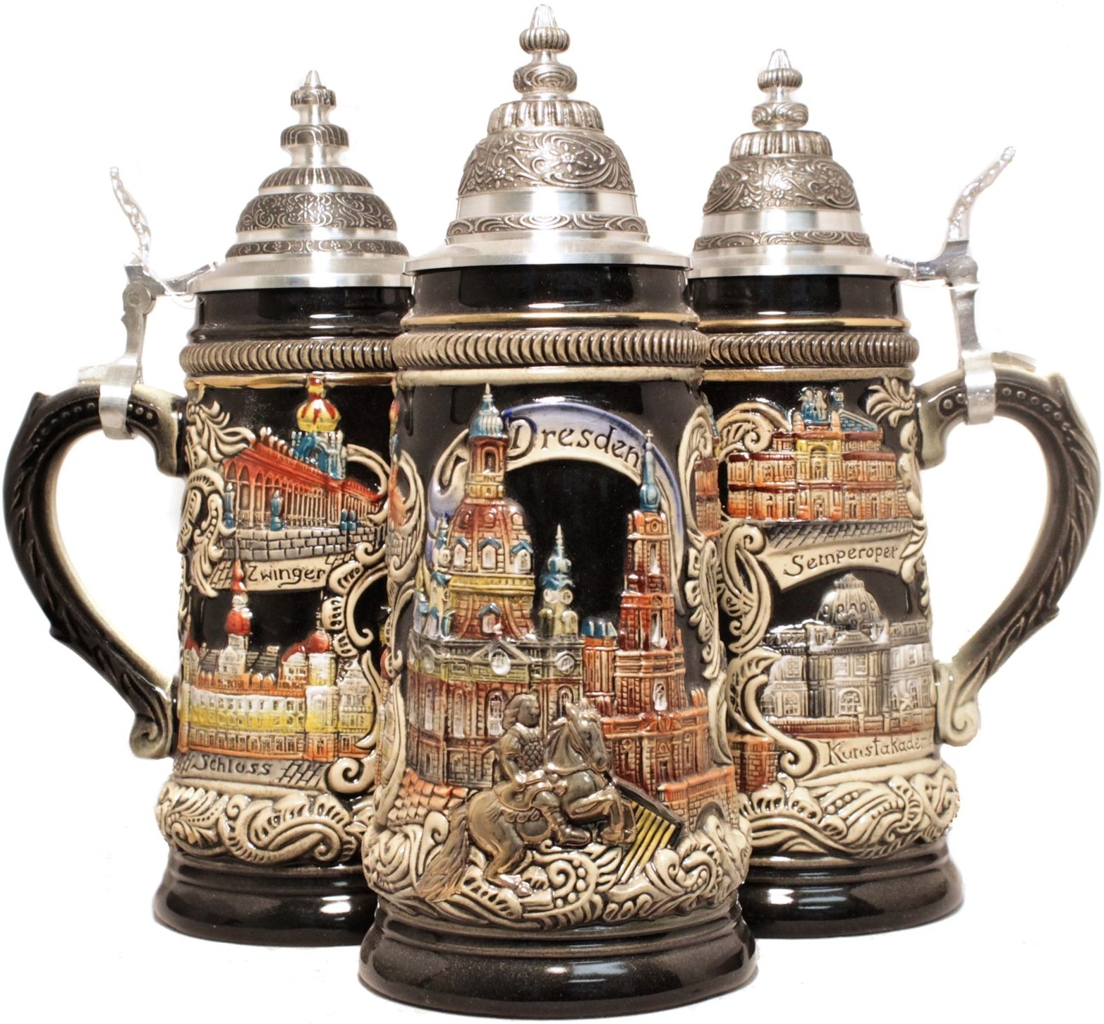 Panorama dresden german beer stein 75l authentic beer for Raumgestaltung stein dresden