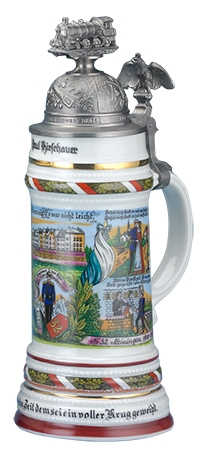 REGIMENTAL STEIN, SUPPLY TRAIN