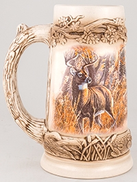 Meger Deer Stein Without Lid
