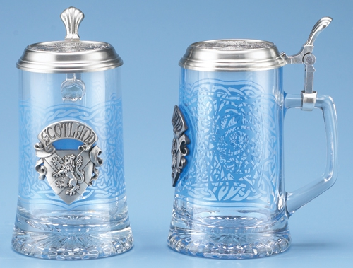 GLASS SCOTLAND STEIN