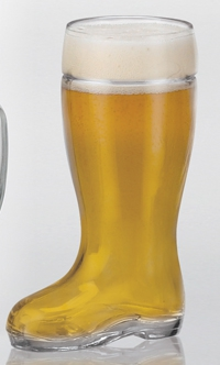 0.25l Glass Beer Boot