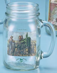 JOHN DEERE LUNCH TIME DRINK JAR