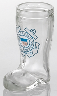 U.S. Coast Guard Mini Isar Glass Shot