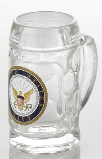 U.S. Navy Mini Isar Glass Shot