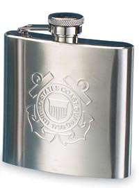 COAST GUARD HIP FLASK