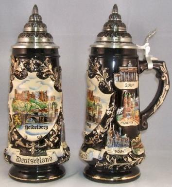 Heidelberg Germany LE German Beer Stein