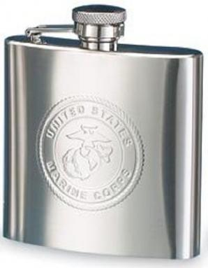 MARINE CORPS HIP FLASK