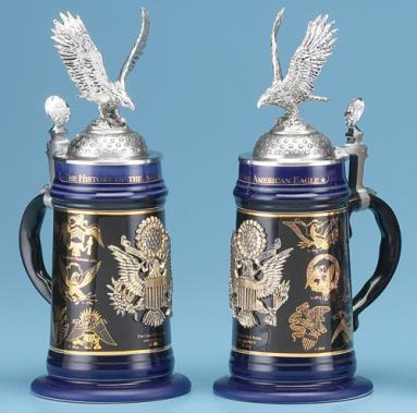 HISTORY OF AMERICAN EAGLE STEIN