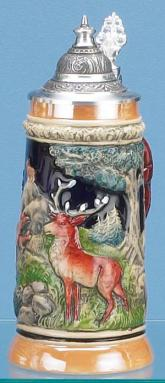 FOREST WILDLIFE BEER STEIN
