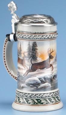 DEER WILDLIFE STEIN