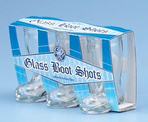 MINIATURE BOOT SHOT-SET OF 3